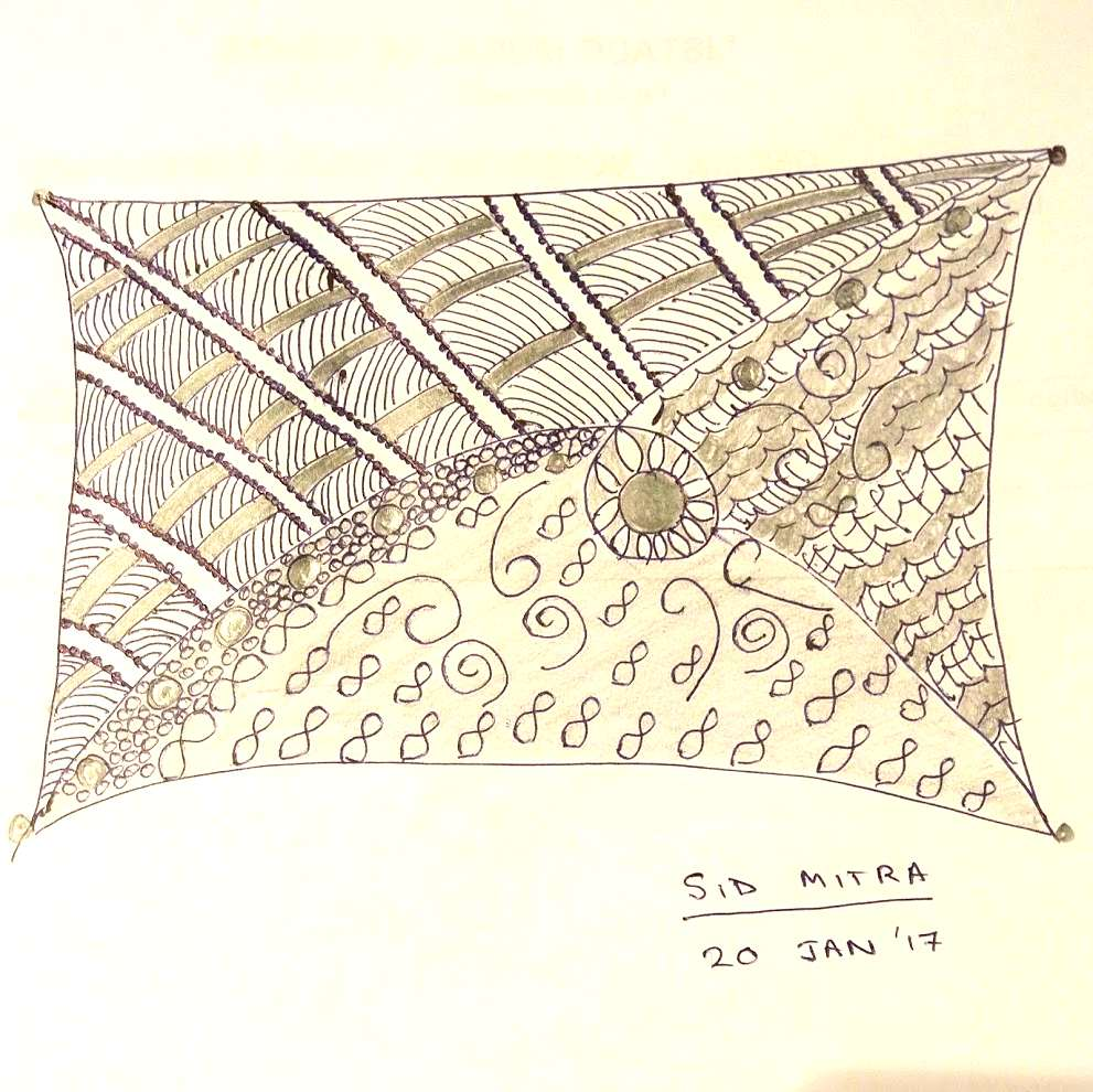 first-zentangle